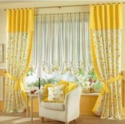 Printed Design Traditional Curtains