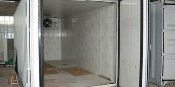 Trucks Refrigerator Container