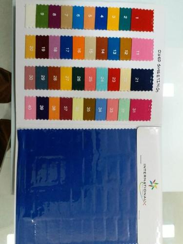 Dyed Sheeting Single Width Fabric
