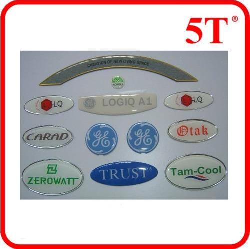 3D Resin Epoxy Label