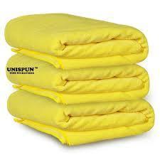 Microfiber Yellow Gym Towel