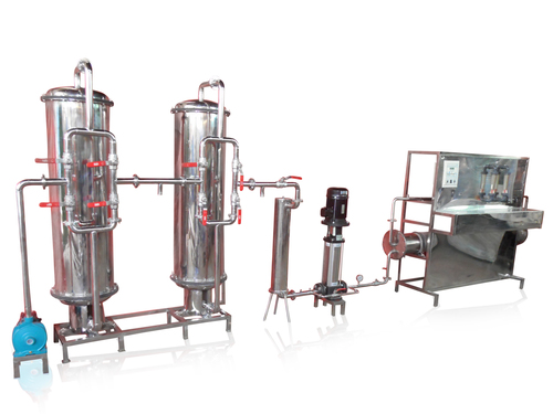 Mineral Water Bottling Project