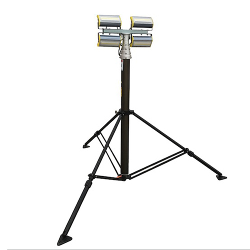 Pneumatic Telescopic Mast With Tripod Mounting Light Tower
