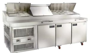 Cold Bain Marie-Pizza Makelines