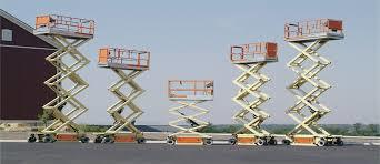 Scissor Lift And Must Climber For Rent