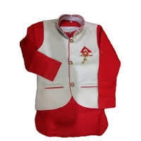 Quick Dry Kids Baba Suit With Nehru Coat