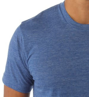 Cotton Polyester Mens T-Shirt