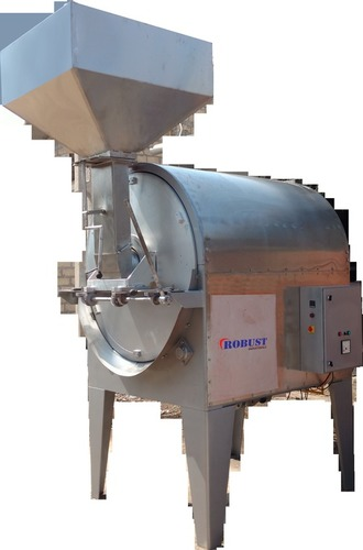 Radiant Heating Rotary Batch Roaster