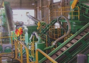 Recycled Material Processing Equipment - Disposal Of Building Scraps