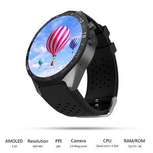 Newest 3g Smart Watch Mtk6580 With Camera