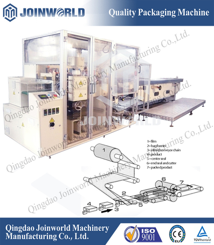 Fully Automatic Horizontal Flow Wrapping Machines