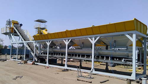 KCP 45 Stationary Concrete Batching Plant
