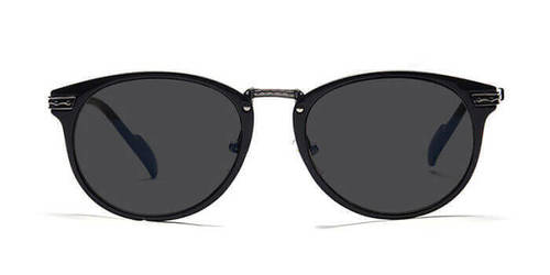 f1053ff1c8 Graviate P32c2617 Charcoal Full Frame Round Sunglasses in Gurugram ...