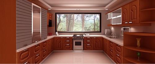One-Stop Modular Kitchen Solution (U-Shaped)