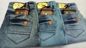 Dusty Colour Balloon Fit Jeans