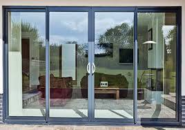 Aluminium Double Door Windows