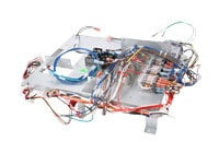 Hi Temp Wire Harness With Relays On Sheet Metal Sub Assembly