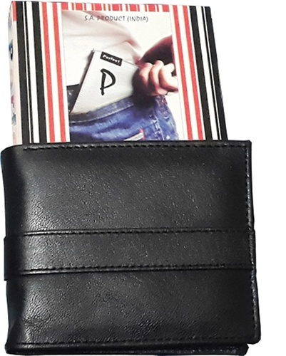 Nifty Black Leather Wallet