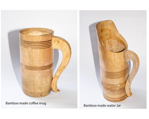 Bamboo Made Coffee Mug & Jar Eco-Friendly