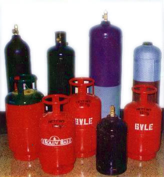 Dissolved Acetylene And Freon Cylinder