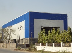 Roof and Cladding Pre-Engineering Building in  Nizampura (Vdr)