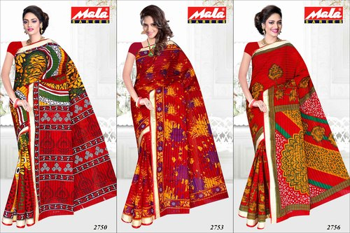 Best Designer Cotton Printed Saree