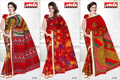 Best Designer Cotton Printed Saree in   Dhareshwar