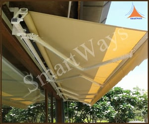 Industrial Motorized Retractable Awnings