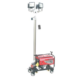 All-Round Remote Control Lifting Work Light