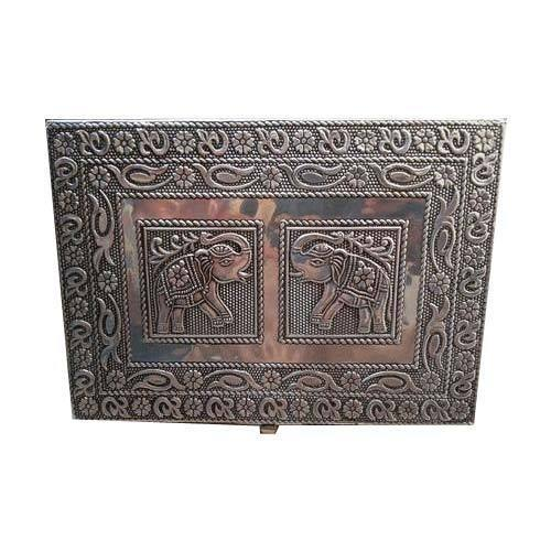 Handcrafted Metal Chocolate Box