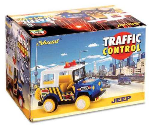 Traffic Control Friction Toys