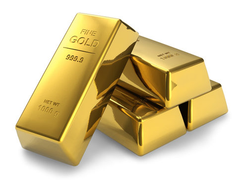 Pure Fine Gold Bars