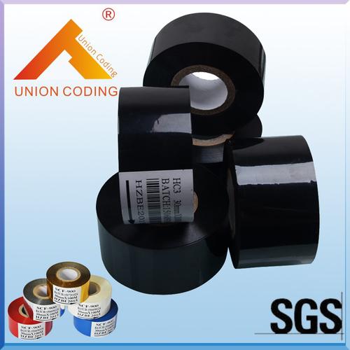 HC3 Type 30mm Width 120M Length Black Hot Stamp Foil