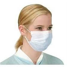 Sterile Medical Use 3 ply Non Woven Disposable Surgical Face Mask
