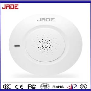 Wireless Standalone Photoelectric Smoke Detector for Home Usage