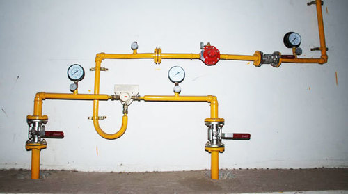 Centralized Gas Pipe Line