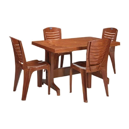 Dining Table Prices: Plastic Dining Table Set At Best Price In Jaipur