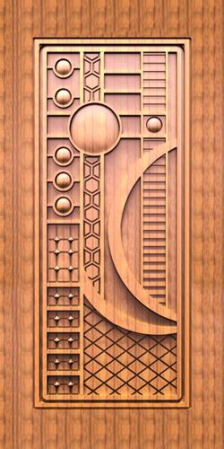 3d Decorative Carving Paper Print Door Skin