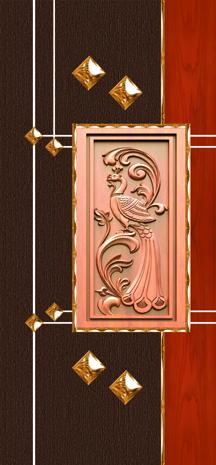 Designer Laminate Door Paper Skin