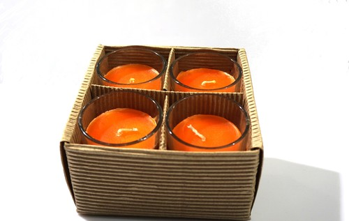 Scented Votive Candle Set Of 4