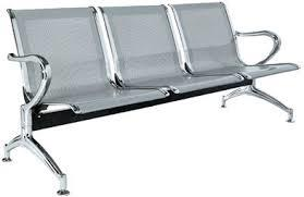 3 Seater Patient Waiting Room Chairs in  Vanagaram