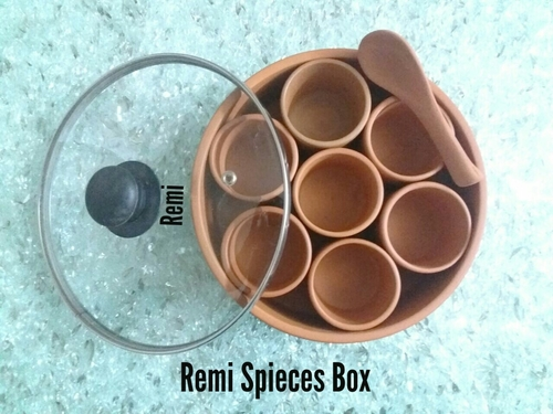 Clay Remi Spices Boxes