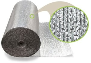 Reflective Thermal Insulation Bubble with Aluminium Foil