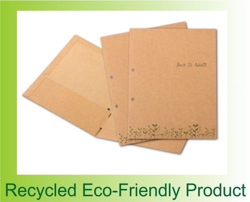 Eco-Friendly Files - ZEBRA STATIONERY PRODUCTS, 51-A