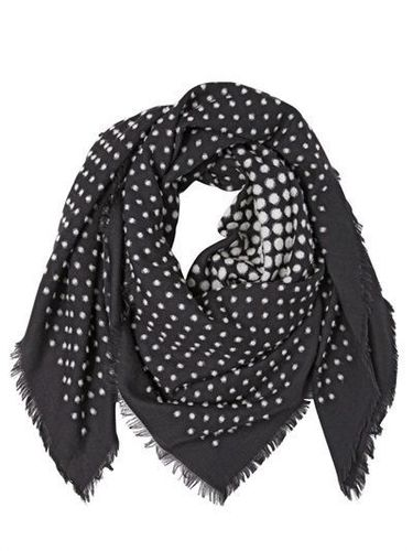 Dotted Silk Wool Shawls