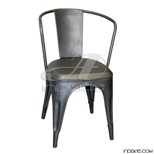 timeless design e2fa5 f8366 Restaurant Chairs Metallic Finish
