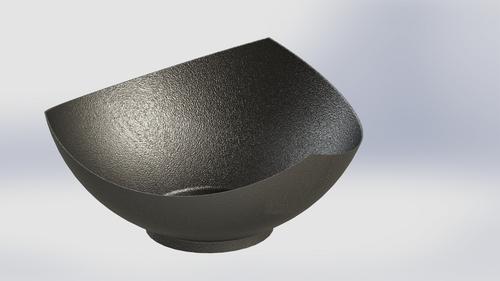 Precise Hammered Finish Aluminum Bowls
