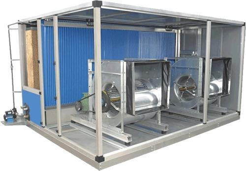 Single Skin Evaporative Cooling System
