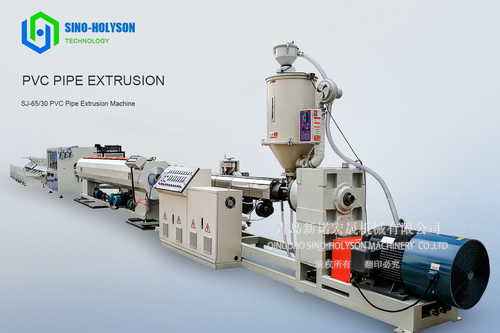 Sj-65 Pvc Pipe Extrusion Line