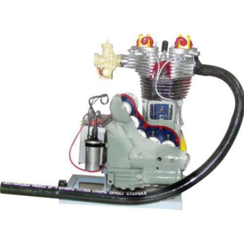 Cutsectional Model Of 4 Stroke Petrol Engine